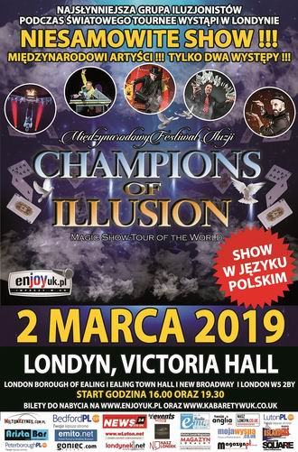 Champions of illusion Londyn 1 - 330