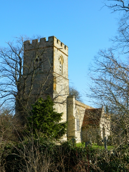 St Lawrences church Broughton 413x550