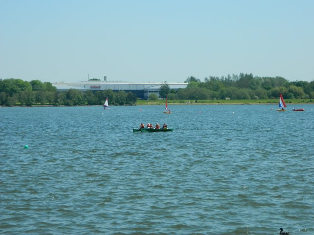 Milton Keynes Willen Lake - maj